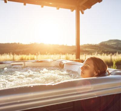 Relaxing Hot Tub